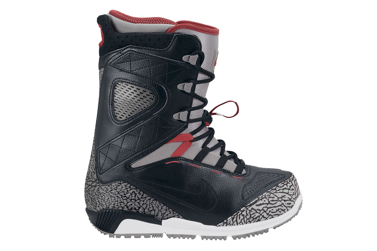 nike snowboarding zoom kaiju black cement boot