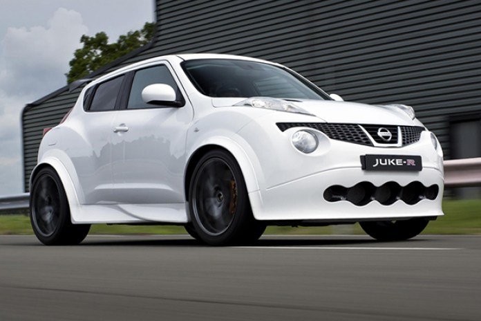 Nissan Juke-R Production Car No. 001