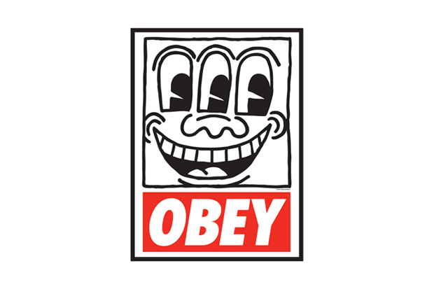 obey x keith haring the medium is the message exhibition japan