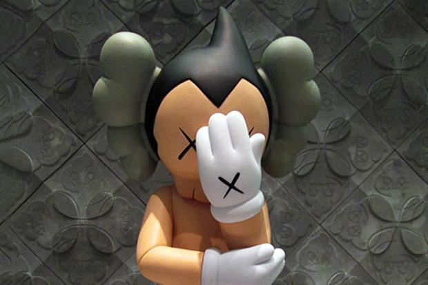 OriginalFake KAWS 2012 Astro Boy Companion