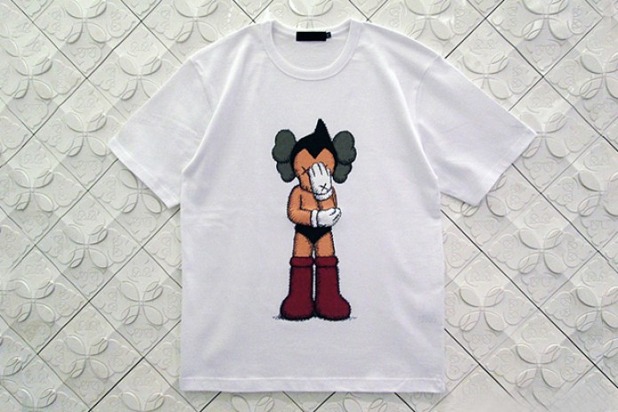OriginalFake KAWS 2012 Astro Boy Companion T-Shirt
