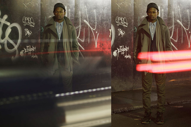 """OUTLIER 2012 Fall """"Layers, Movement and Light"""" Lookbook"""