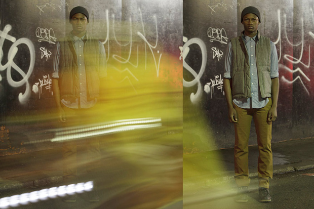 "OUTLIER 2012 Fall ""Layers, Movement and Light"" Lookbook"