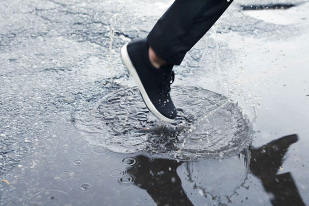 outlier supermarine rain pant