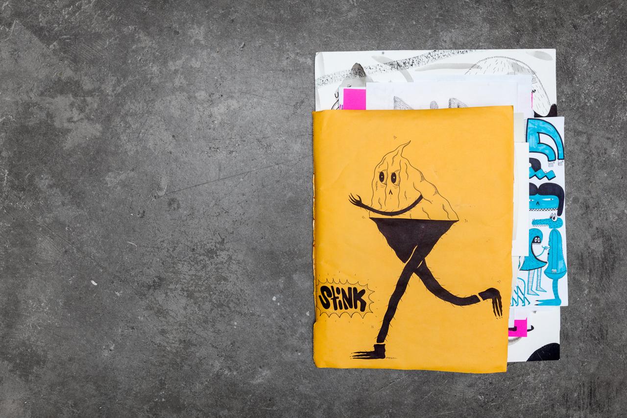 pen paper stink