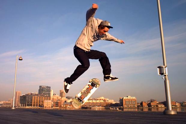 Phantom Camera Skateboarding with Spencer Brown