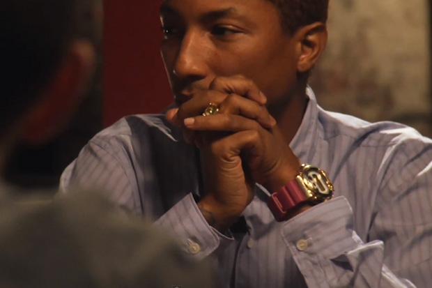Pharrell Williams Talks Tech with Ben Mezrich & Andy Greenberg