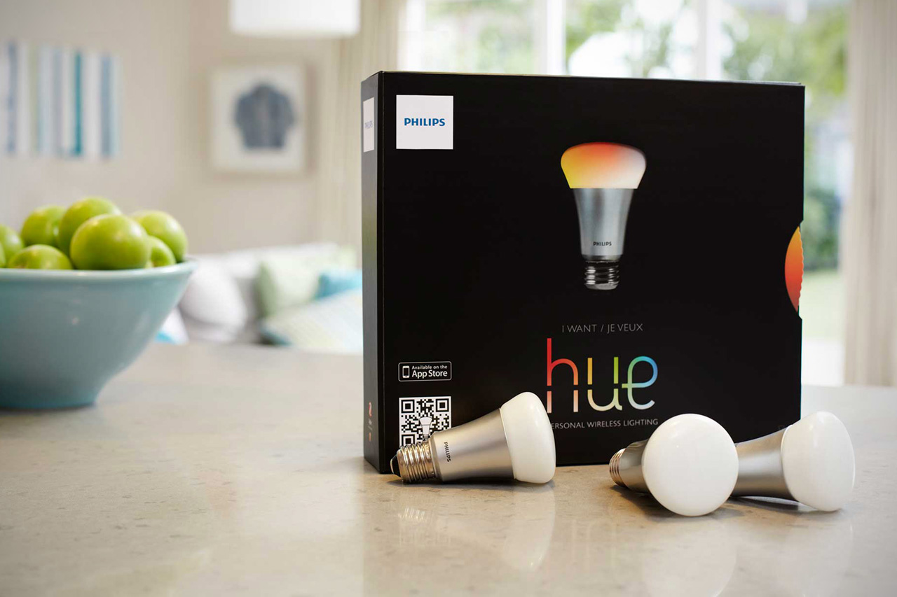 The Philips Hue Light Bulb Gives Complete Control Over Home Lighting