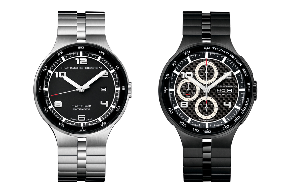 porsche design p6300 flat six watches