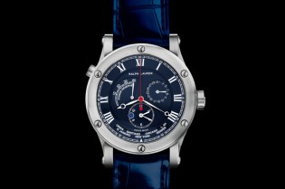 Ralph Lauren Steel Sporting World Time Watch