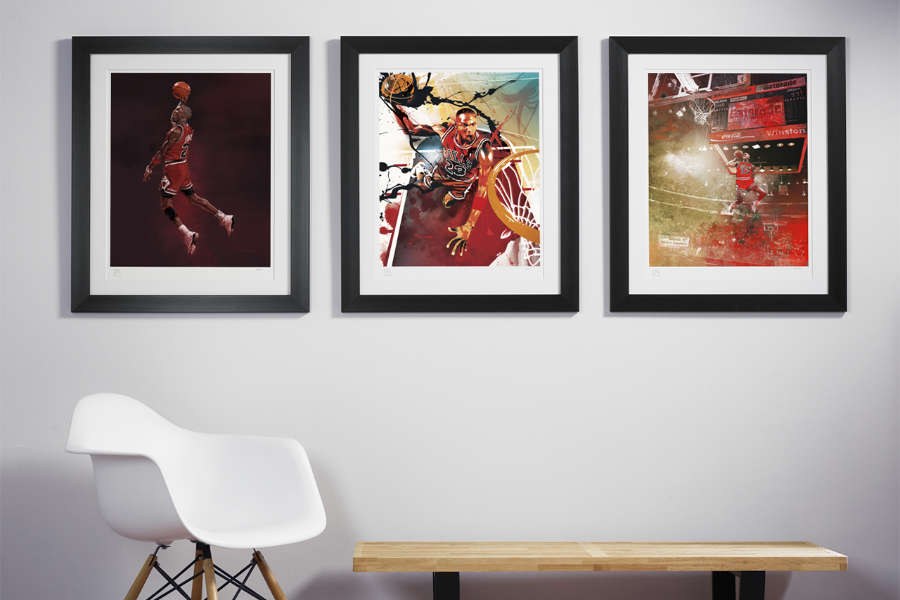 RareInk NBA Art Prints