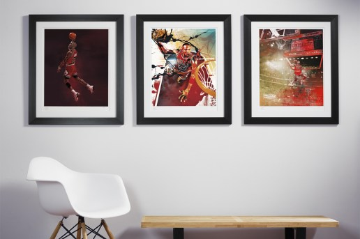 RareInk NBA Art Prints
