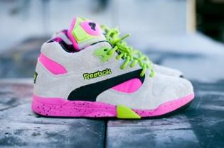 Reebok Pump Omni Lite Grey/Pink