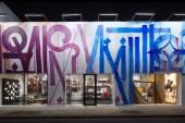 RETNA Transforms Louis Vuitton Miami Store Facade Into a Work of Art