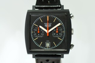 RETROSPECT: 1970s Heuer Black PVD Monaco