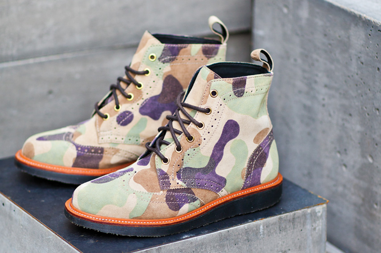 "Ronnie Fieg for Dr. Martens ""The Bowery"" Boot"