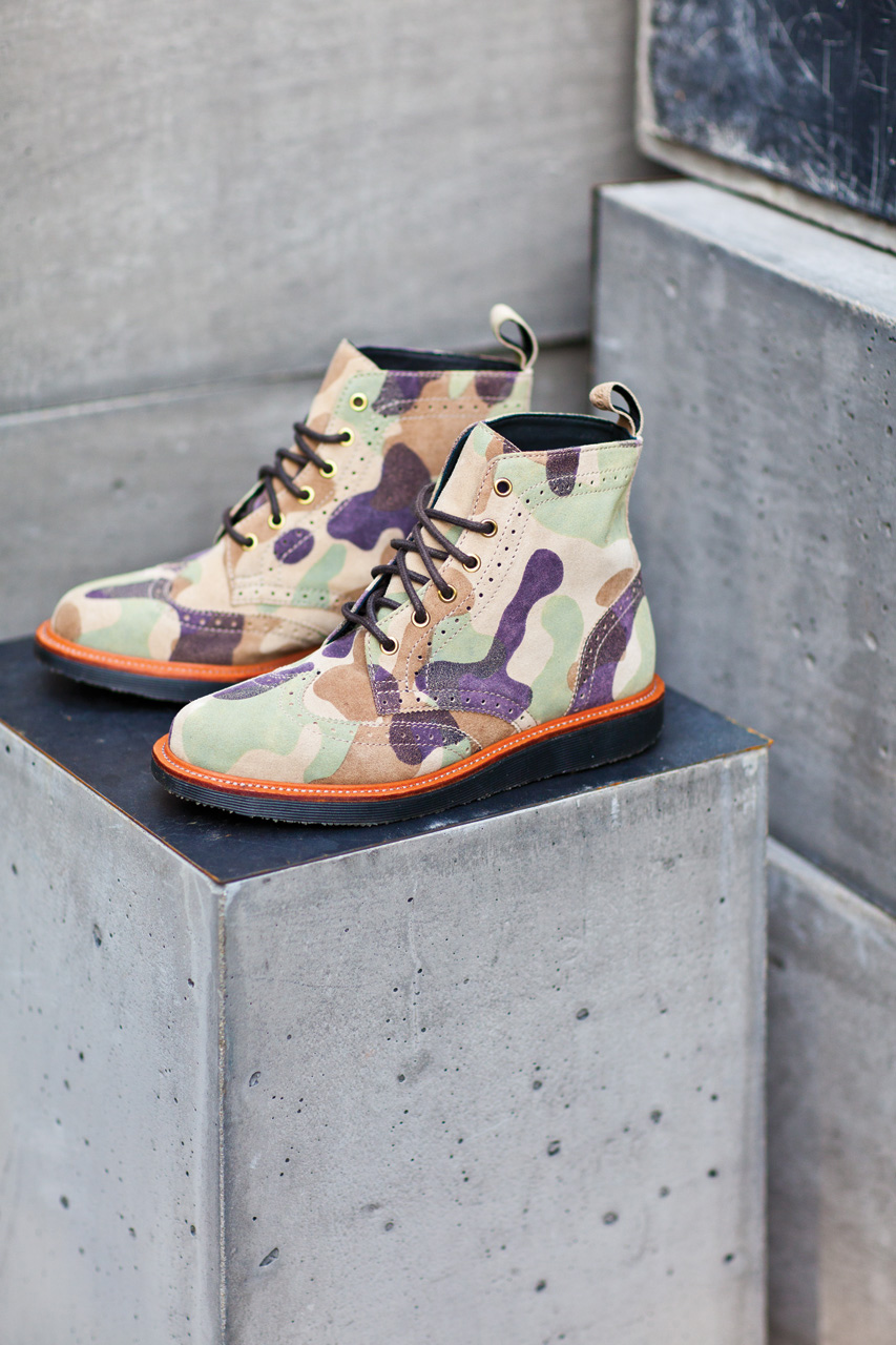ronnie fieg for dr martens the bowery boot