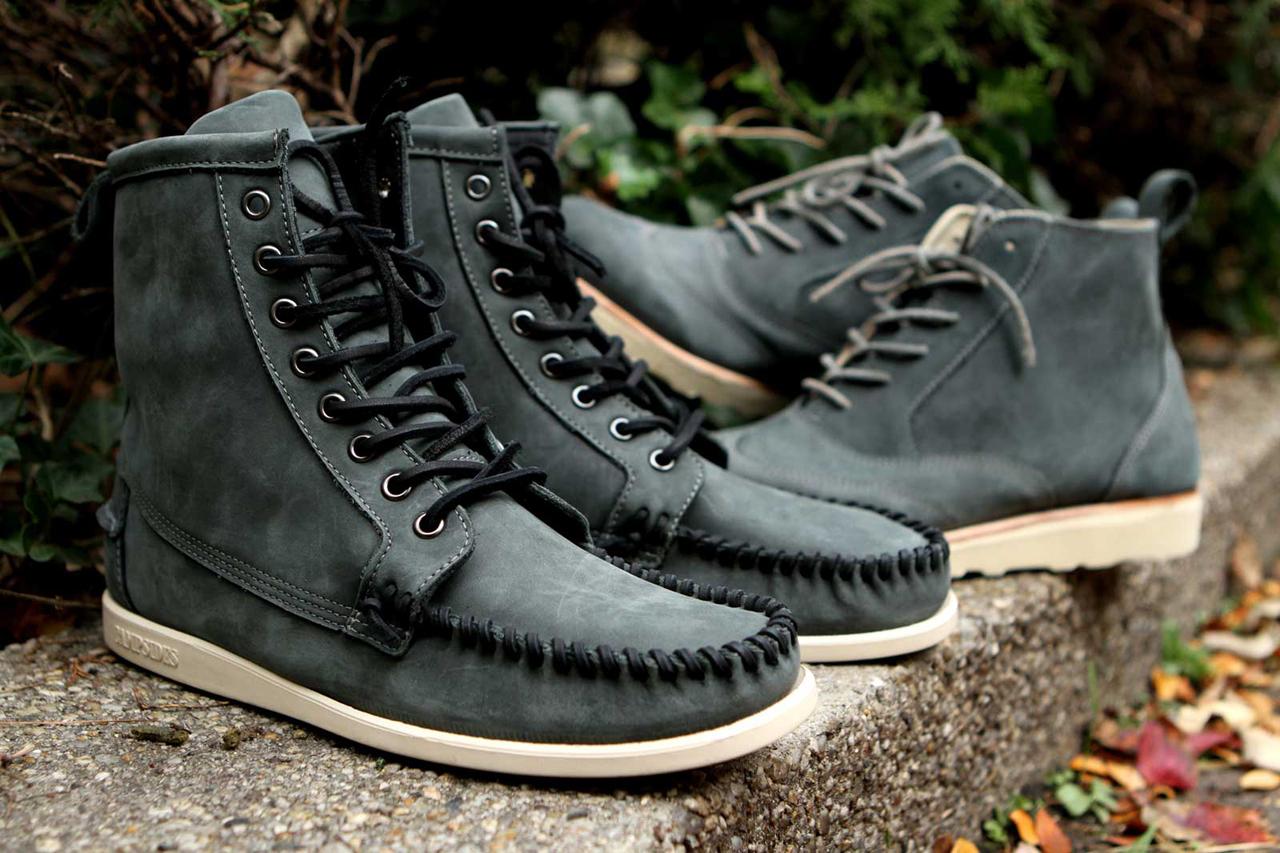 Ronnie Fieg for Sebago 2012 Fall/Winter Seneca and Bleeker Boots