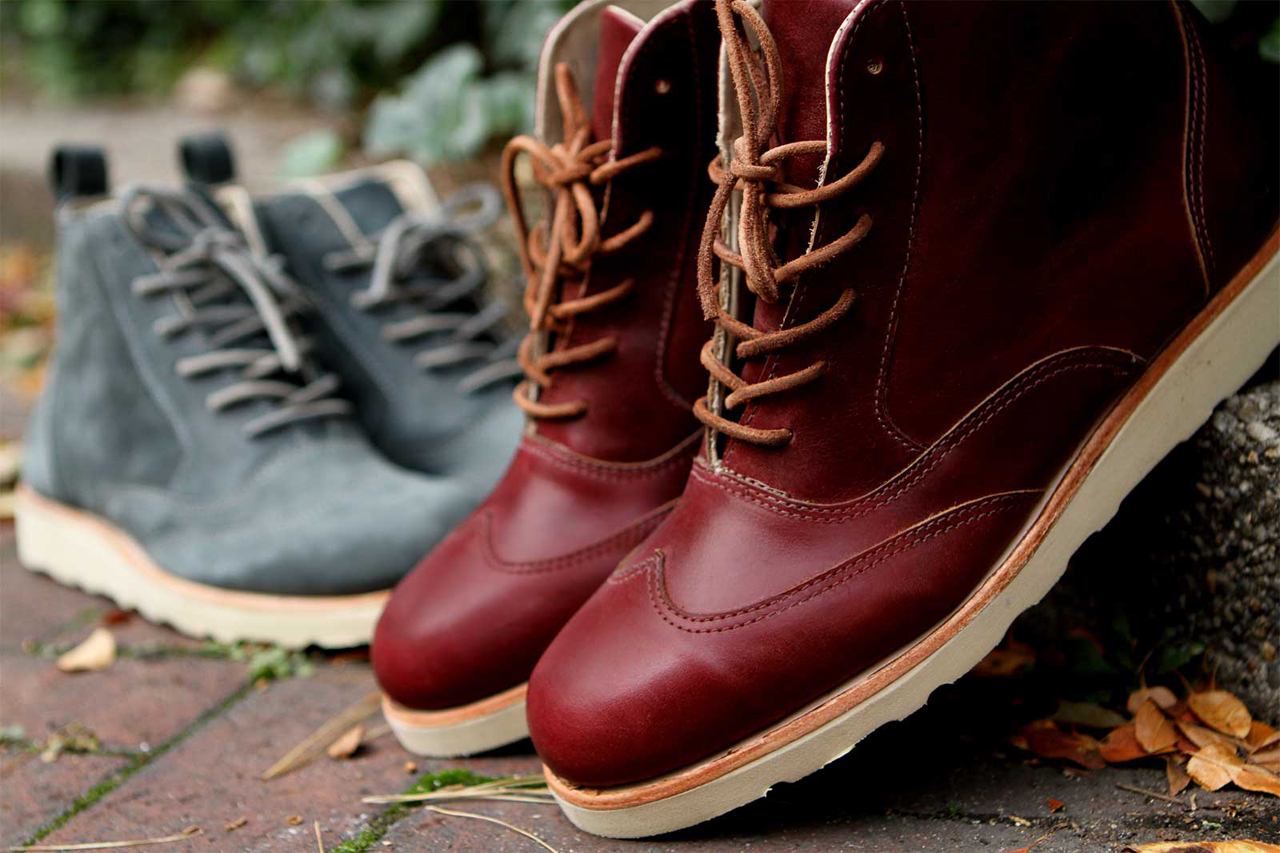 ronnie fieg for sebago 2012 fall winter seneca and bleeker boots