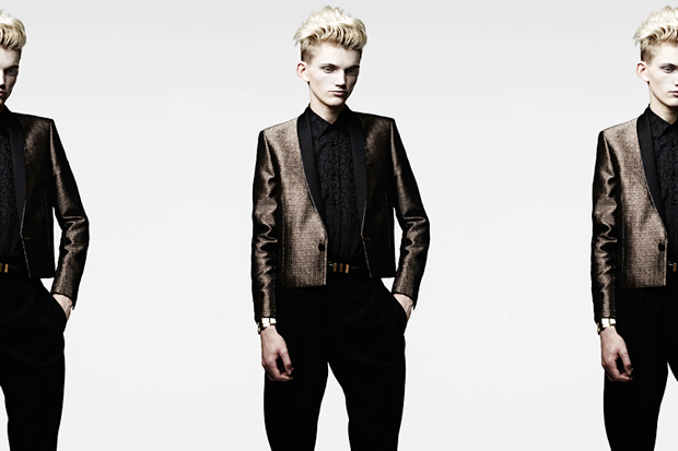 Saint Laurent 2013 Spring/Summer Lookbook