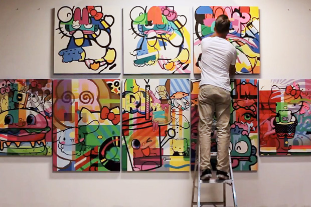 """SANRIO """"Hello Kitty, Hello Art!"""" Book Release and Show @ KNOWN Gallery"""