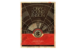 "Shepard Fairey ""Sound & Vision"" Exhibition @ StolenSpace Gallery"