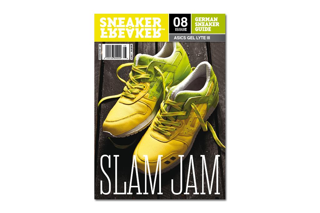 Slam Jam x ASICS 2012 Gel Lyte III Covers Latest Issue of Sneaker Freaker