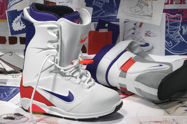 nike snowboardings air 180 inspired zoom ites boot gets a further look