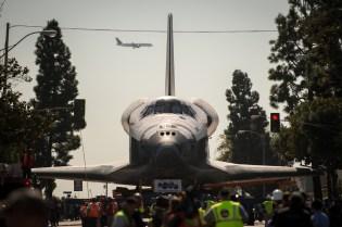 Space Shuttle Endeavour's Transition into Retirement