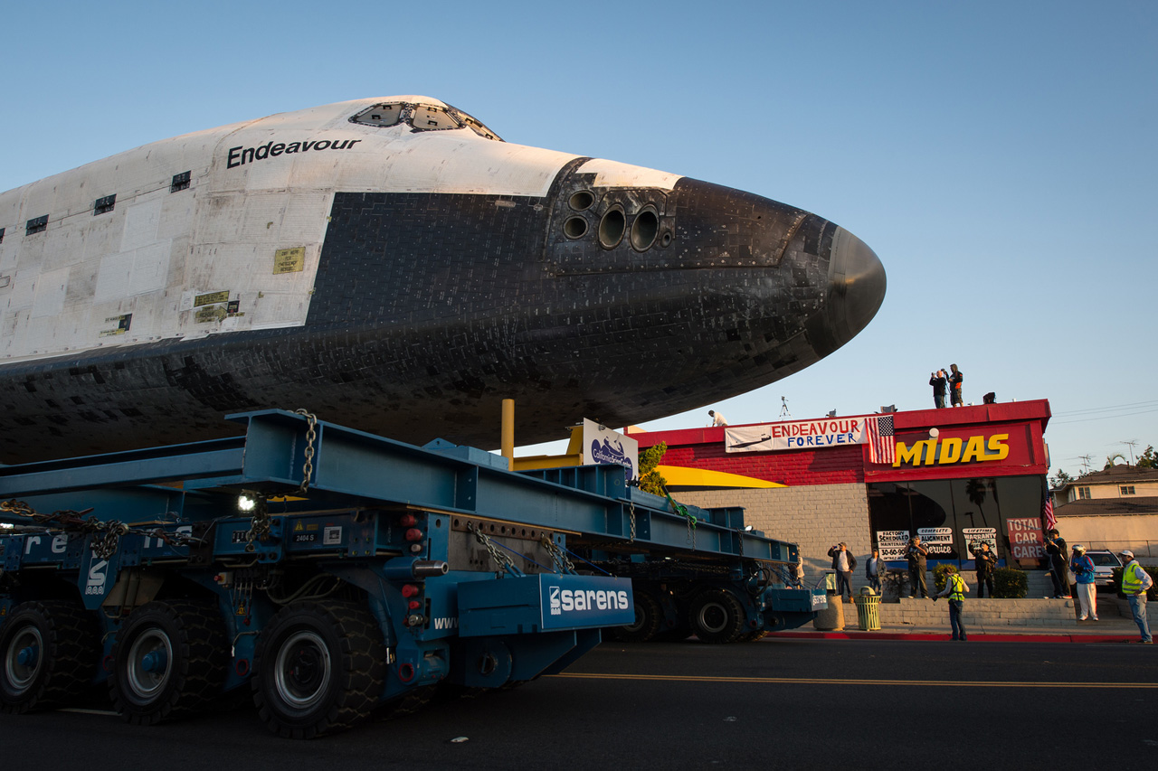 Space Shuttle Endeavour's Transition into Retirement ...