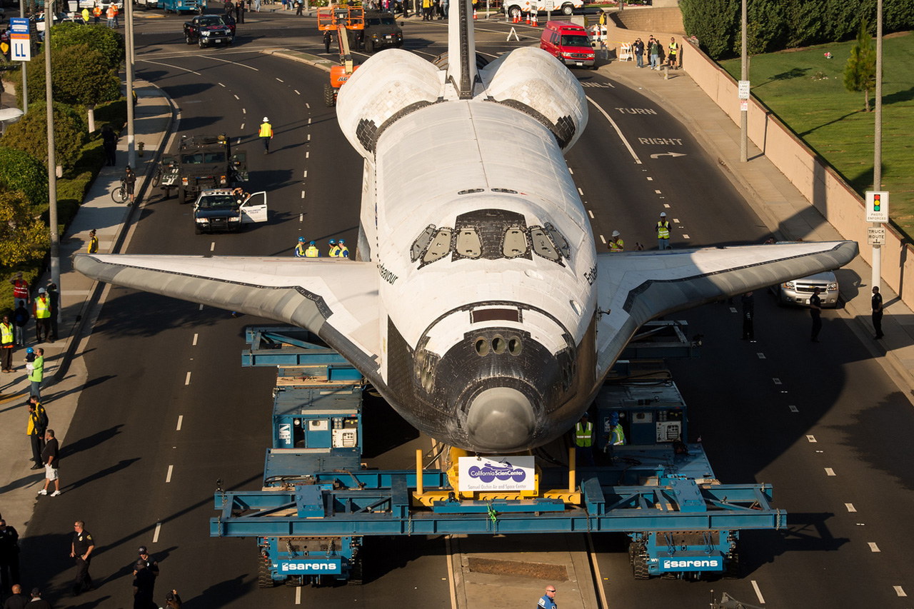 Space Shuttle Endeavour's Transition into Retirement