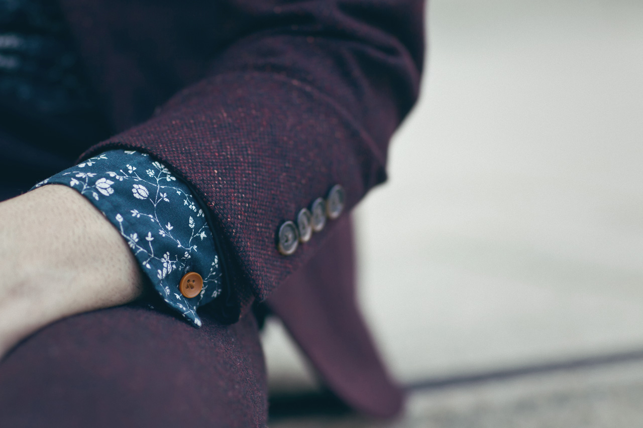 Streetsnaps: ASOS 2012 Fall - Tweed/Floral