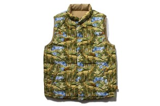 Stussy 2012 Fall/Winter Reversible Frontier Vest