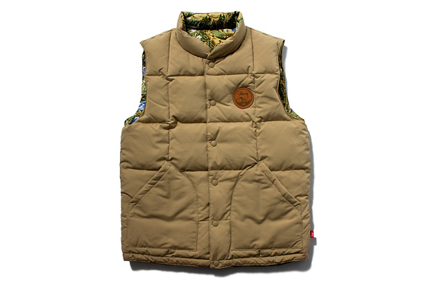 Stussy 2012 Fall/Winter Reversible Frontier Vest