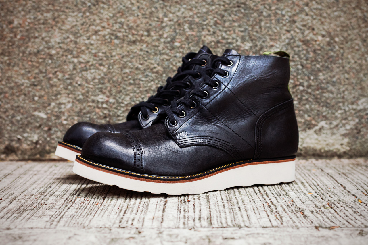 """STUSSY & THE HEARTBREAKERS 2012 Fall/Winter """"Vincent"""" Parachute Boots"""
