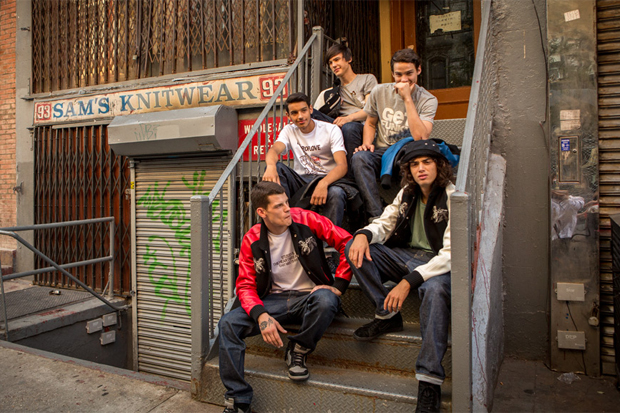 "STUSSY & THE HEARTBREAKERS 2012 Fall/Winter ""East Meets West"" Lookbook"