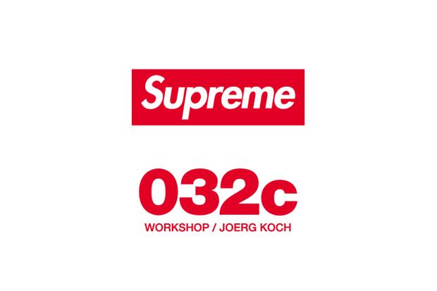 Supreme At 032c Workshop/Joerg Koch