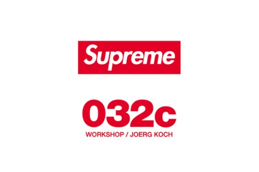 Supreme At 032c Workshop/Joerg Koch