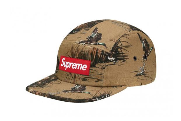 supreme dogs ducks canvas camp caps