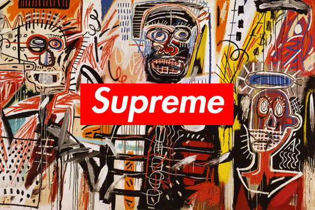 rumor supreme to release collection featuring basquiats artwork