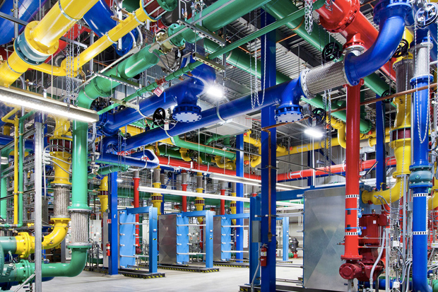 Take a Look Inside Google's High-Tech Data Centers