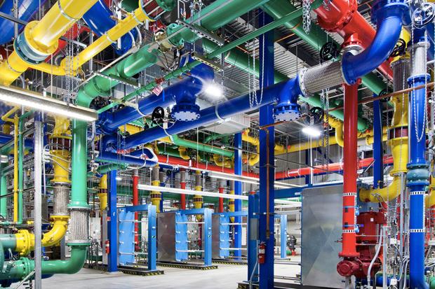 Take a Look Inside Google's High-Tech Data Centers