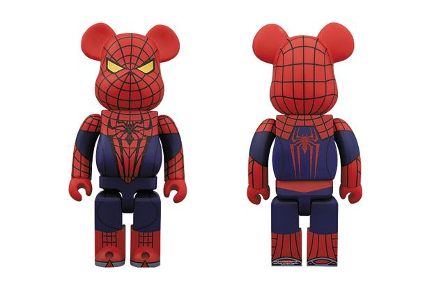 The Amazing Spider-Man x Medicom Toy 1000% Bearbrick