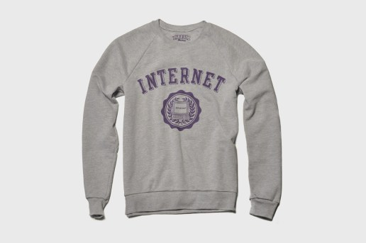 The Fourth Floor Print Shop INTERNET Sweatshirt