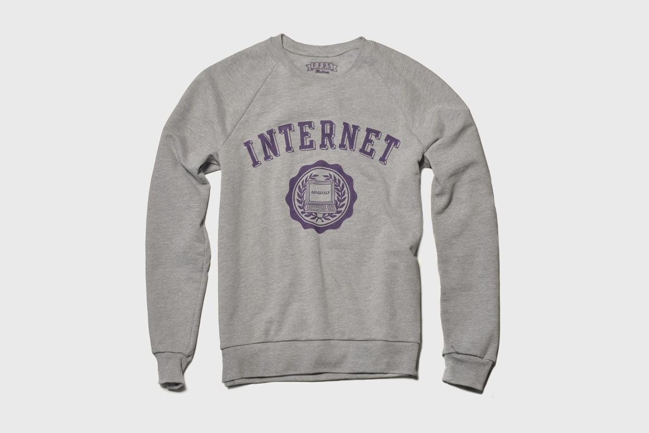 the fourth floor print shop internet sweatshirt