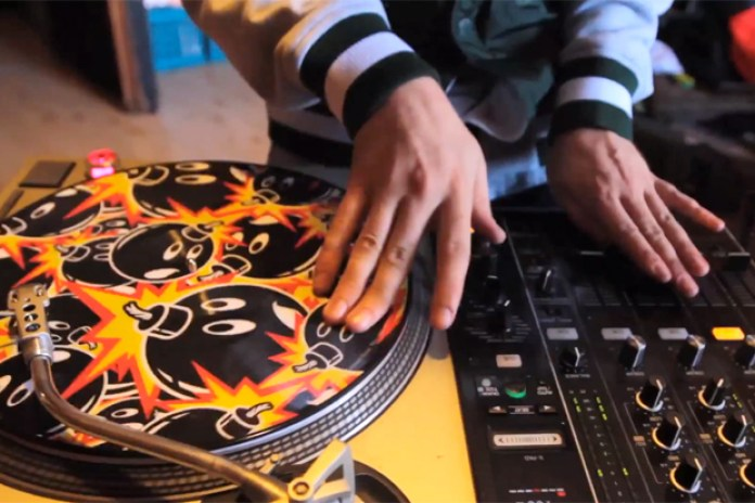 The Hundreds x Serato Control Record