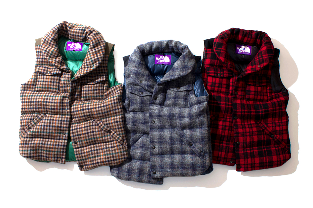 THE NORTH FACE PURPLE LABEL 2012 Fall/Winter Harris Tweed Collection