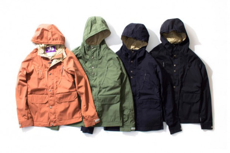 THE NORTH FACE PURPLE LABEL 2012 Fall/Winter Outerwear Collection