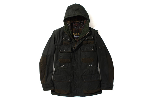 tokito x barbour 2012 fall winter beacon heritage collection