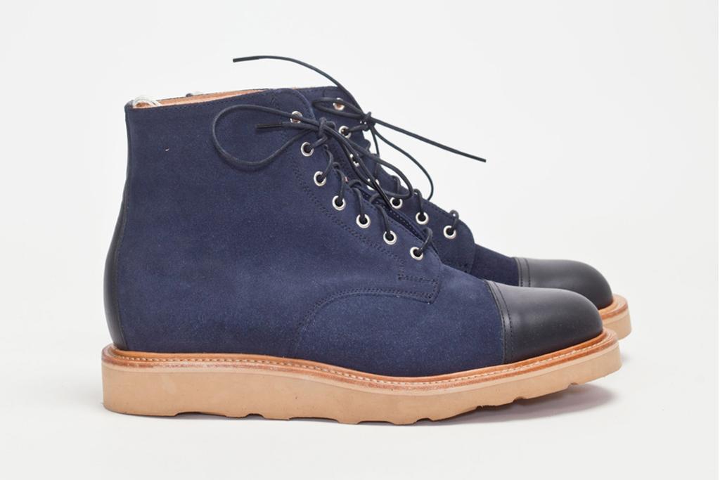 tres bien shop x mark mcnairy 2012 fall winter cap toe derby boot